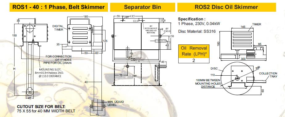 Oil Skimmer Manufacturers